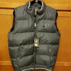 Mens Beverly Hills Polo Club Puffer Vest